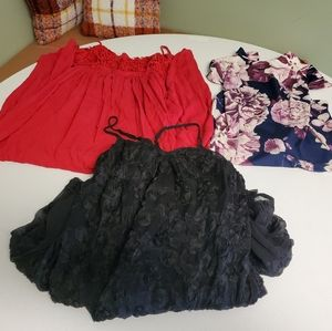 3 dresses in size small